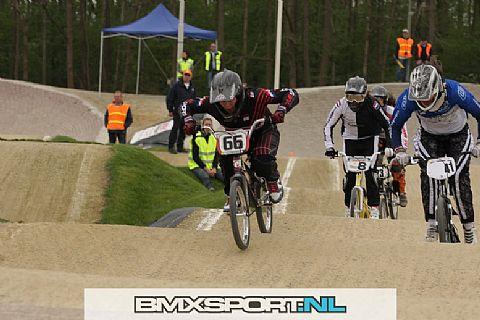 Bmx Team LK 66 pakt twee maal goud op het NK Bmx.